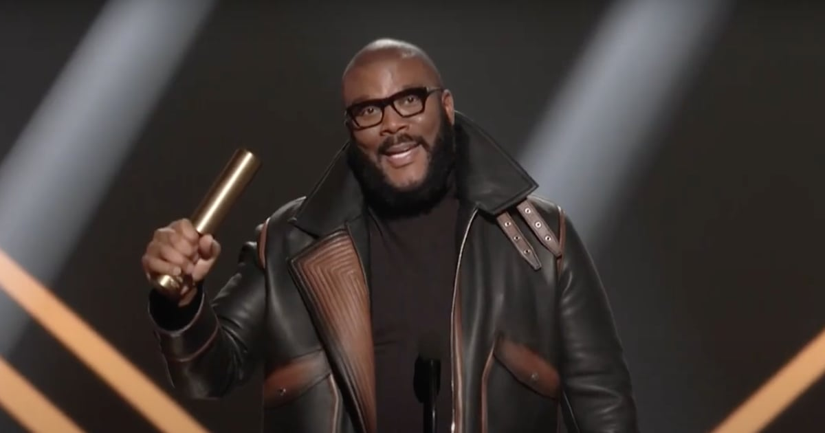 """Tyler Perry's PCAs Speech Is a Poignant Reminder: """"You Are Worthy of Getting to Your Goal"""""""