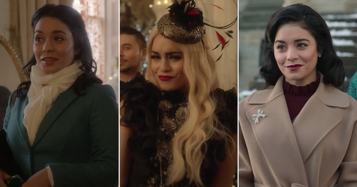 Vanessa Hudgens Is Back at It Again With Her Look-Alike Shenanigans in The Princess Switch 2