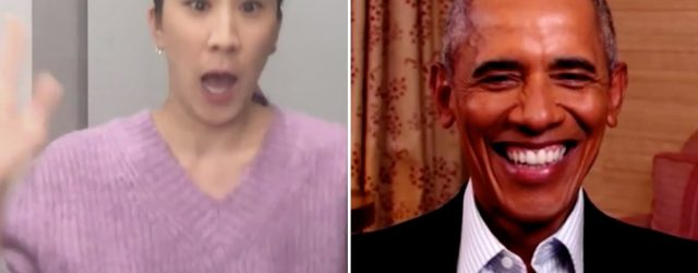 Barack Obama Caught Eva Chen Off Guard in a Virtual Interview and Her Shock Is Palpable