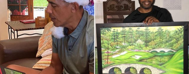 Michelle Obama Gave Barack a Drawing For Christmas, but the Story Behind It Is the Real Gift