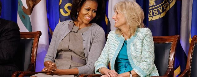 Michelle Obama Had the Perfect Response to That Misogynistic Op-Ed About Dr. Jill Biden