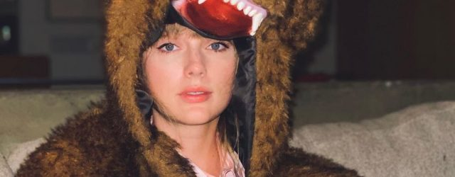 "So, Taylor Swift Ended the Year in a Fuzzy Bear Costume: ""Bye 2020, It's Been Weird"""