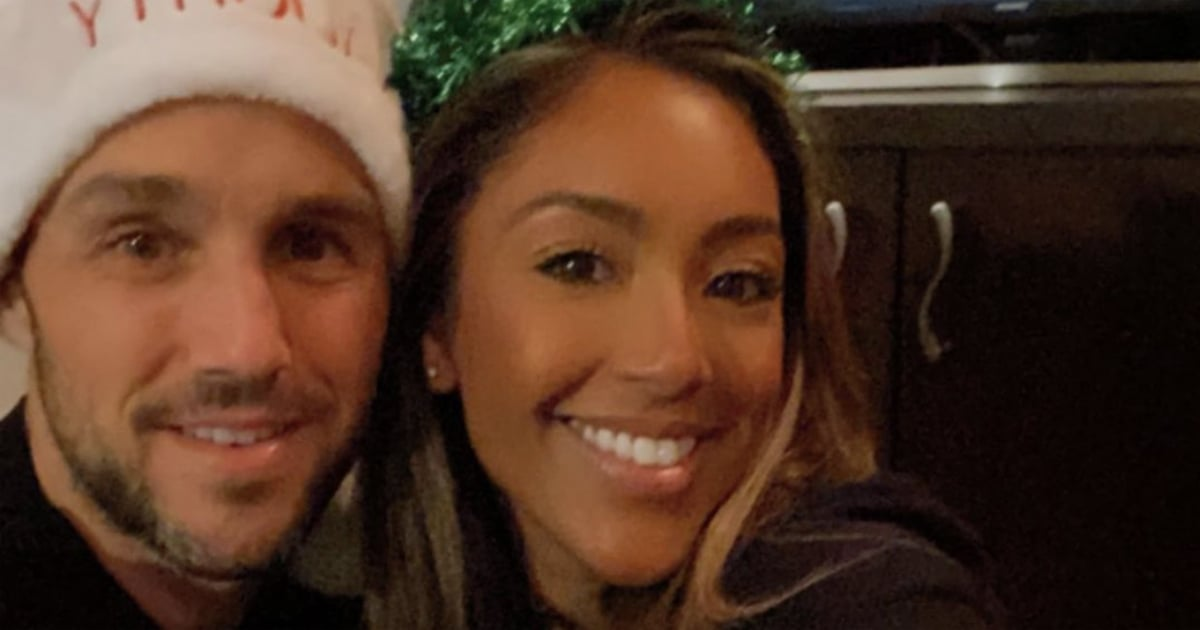 """Tayshia Adams and Zac Clark Spend Their First Christmas Together: """"My Heart Is So Full!"""""""