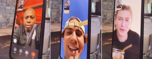 """The Kardashians' FaceTime Prank Really Caught Their Famous Friends Off Guard: """"Holy Sh*t!"""""""