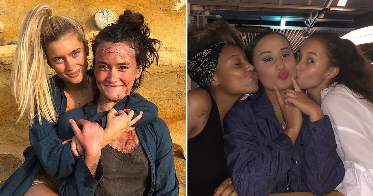These Photos of the Wilds Cast Show They Get Along a Lot Better Than Their Characters