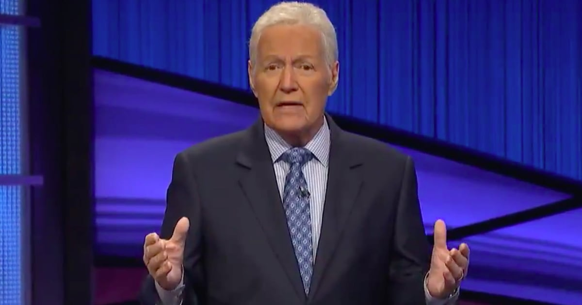 Alex Trebek Shares a Heartfelt Message About Generosity in One of His Last Jeopardy! Episodes