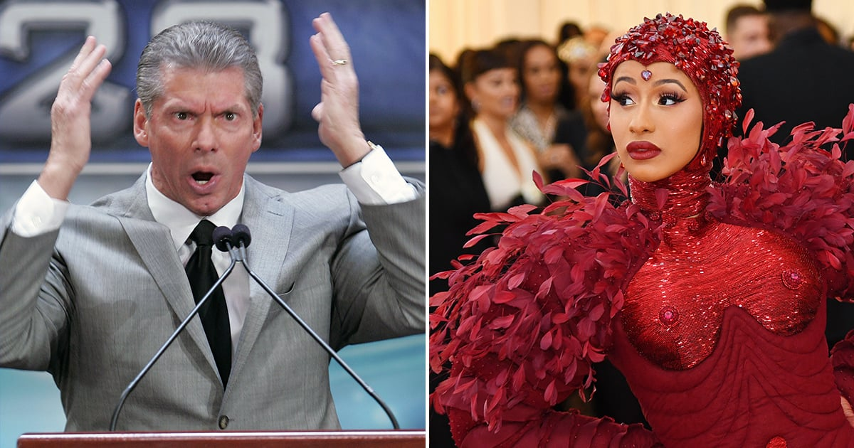 """Cardi B Has a Hilarious Message For Vince McMahon After Her WWE """"Debut"""""""