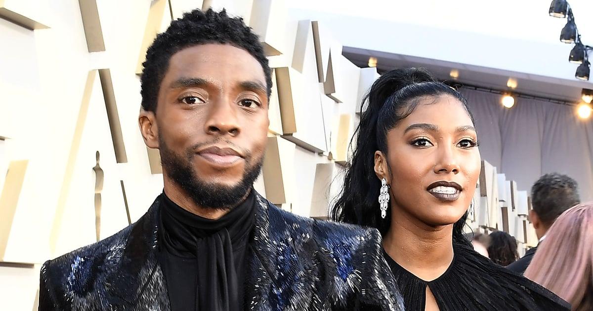 "Chadwick Boseman's Widow Says She's ""So Proud"" of Him During Award Speech"