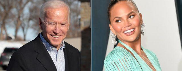 Chrissy Teigen Just Became the Only Celeb President Joe Biden Follows on Twitter