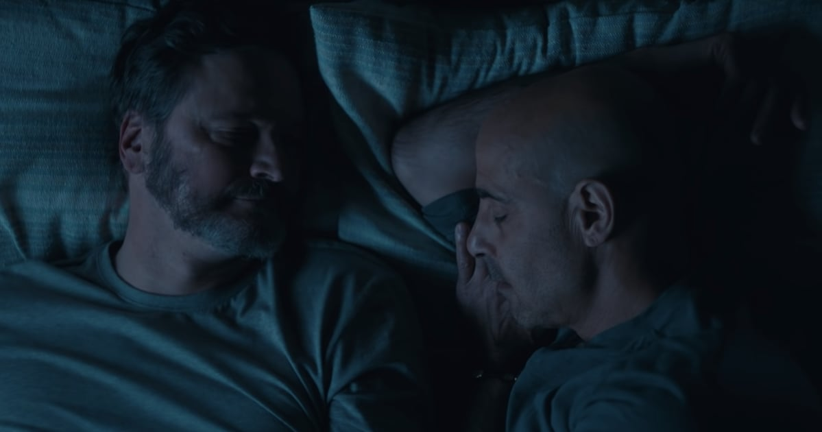 "Colin Firth and Stanley Tucci's ""Deeply Romantic"" Supernova Trailer Will Break Your Heart"