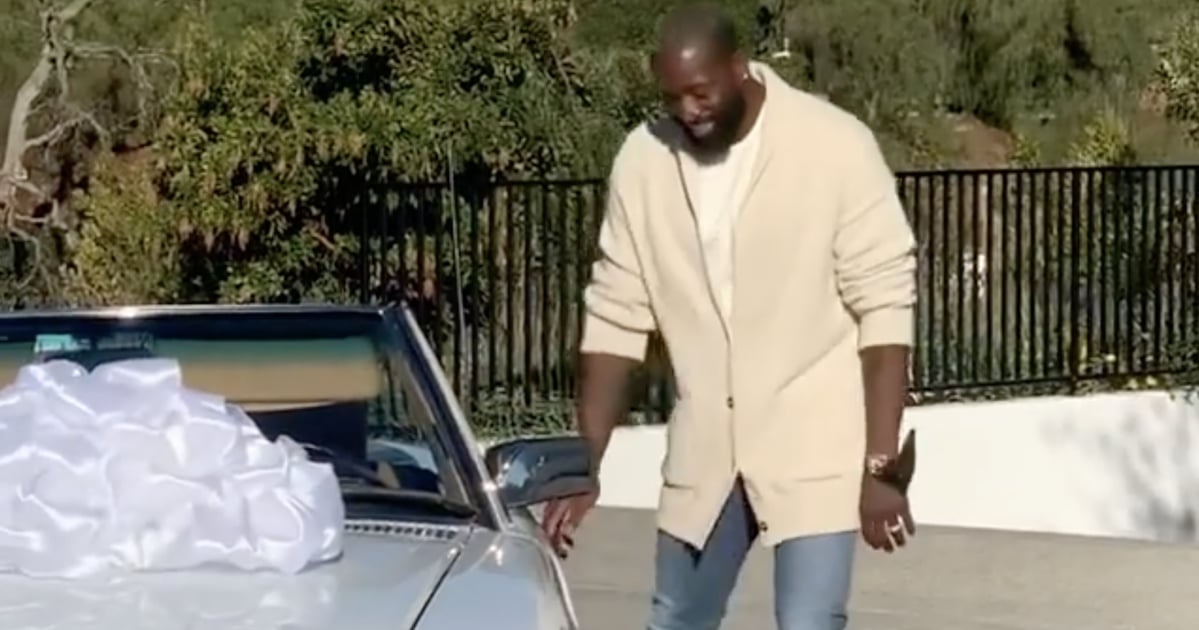 """Gabrielle Union Surprised Dwyane Wade With the Coolest 1988 Car For His Birthday: """"Classic!"""""""