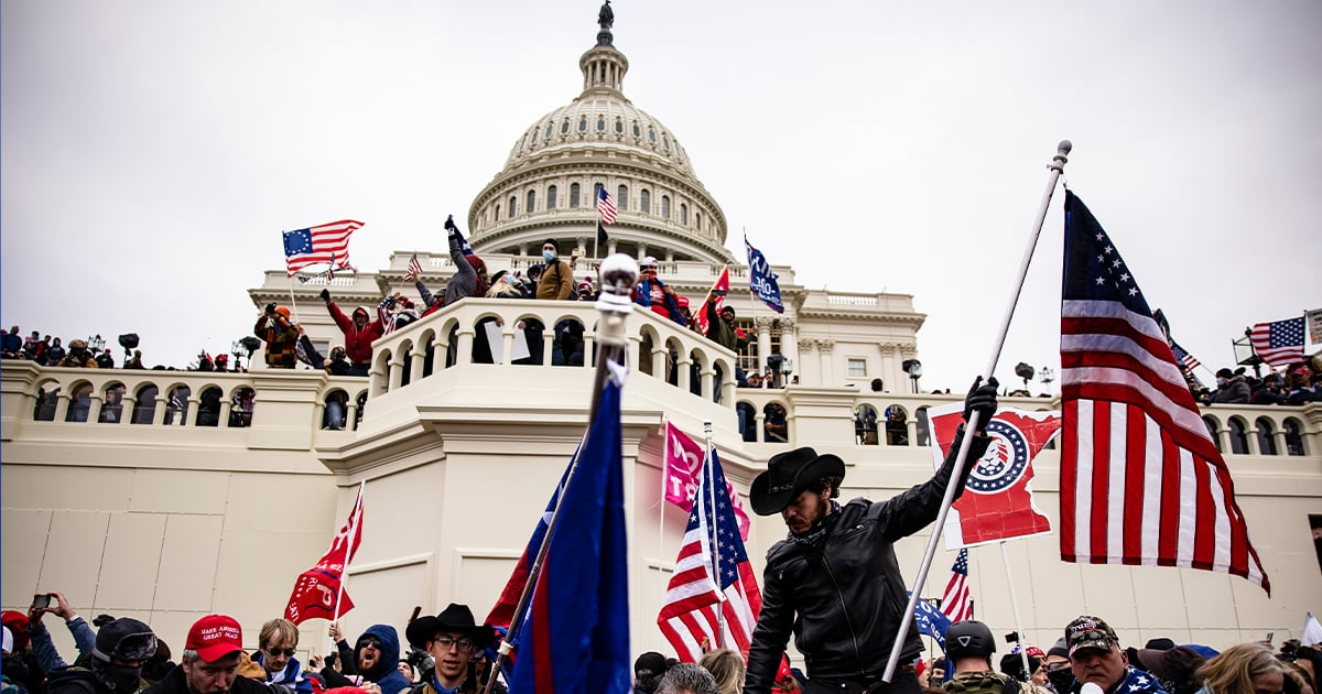 If Celebrities Can Call Today's Insurrection at the Capitol What It Is, You Can Too