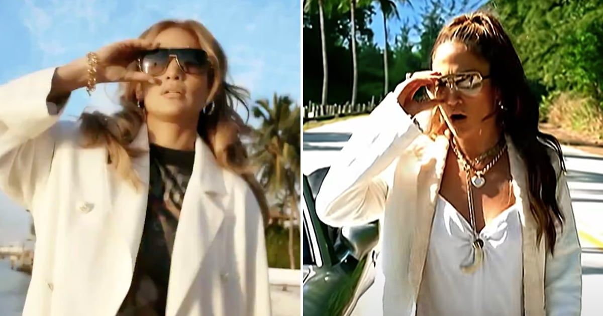 """Jennifer Lopez Celebrates 20 Years of J.Lo by Re-Creating Her """"Love Don't Cost a Thing"""" Video"""