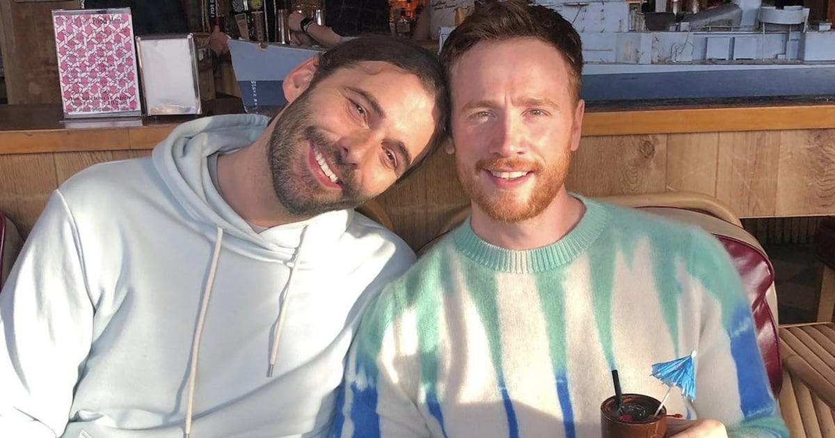 Jonathan Van Ness Shares Sweet Photos of Husband Mark Peacock and Reveals How They Met