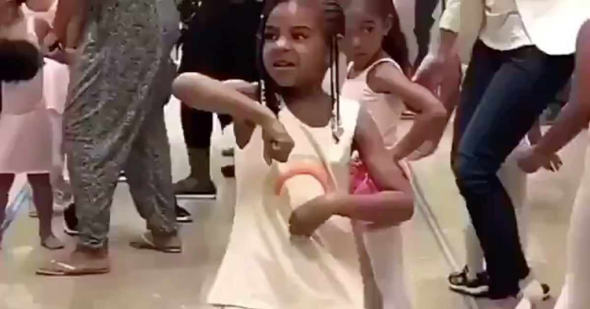 Lord, Grant Me the Energy of Blue Ivy Breaking It Down in Dance Class Like a Boss