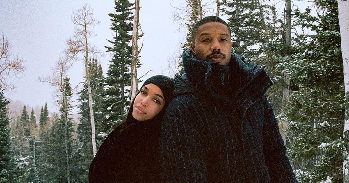 Michael B. Jordan and Lori Harvey Are a Beautiful Sight in This Winter Wonderland