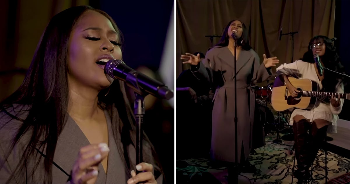 Take a Minute to Just Bask in Jazmine Sullivan's Heavenly Vocals From Her Tiny Desk Concert