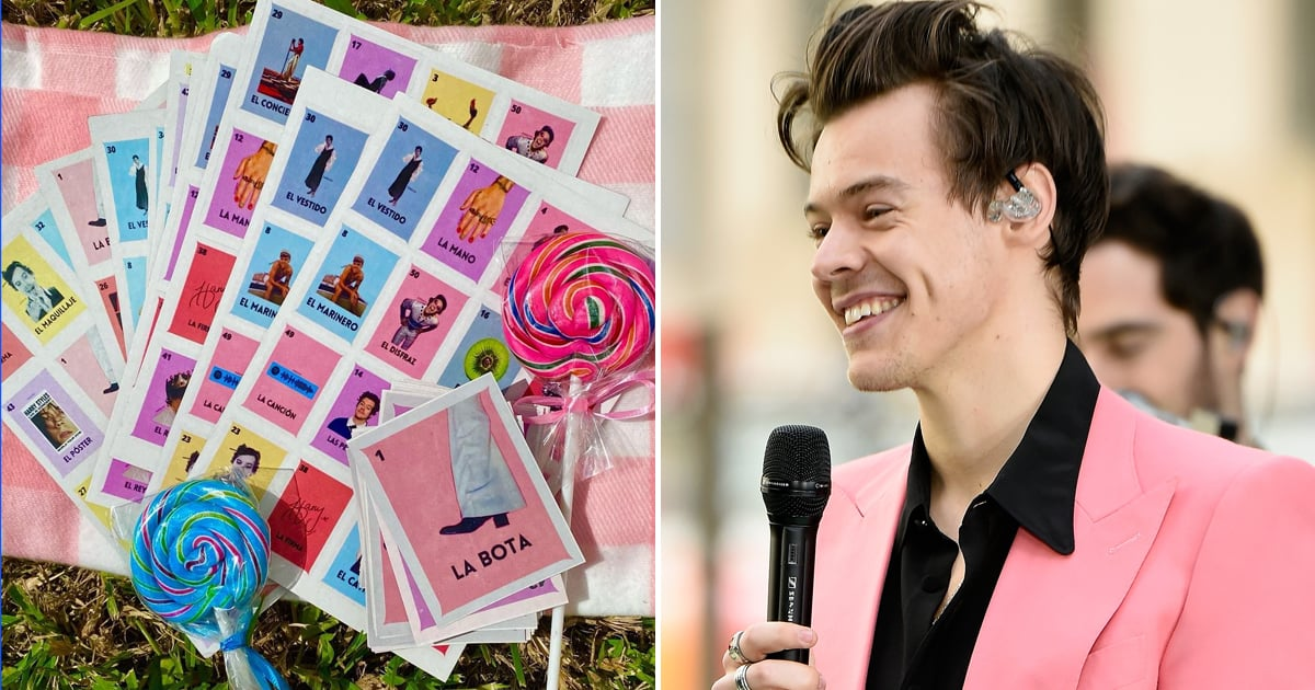 This Harry Styles Lotería Game Features Some of His Most Iconic (and Hilarious) Moments