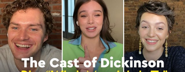 """Watch Hailee Steinfeld and the Rest of the Dickinson Cast Play """"Who's Most Likely To"""""""