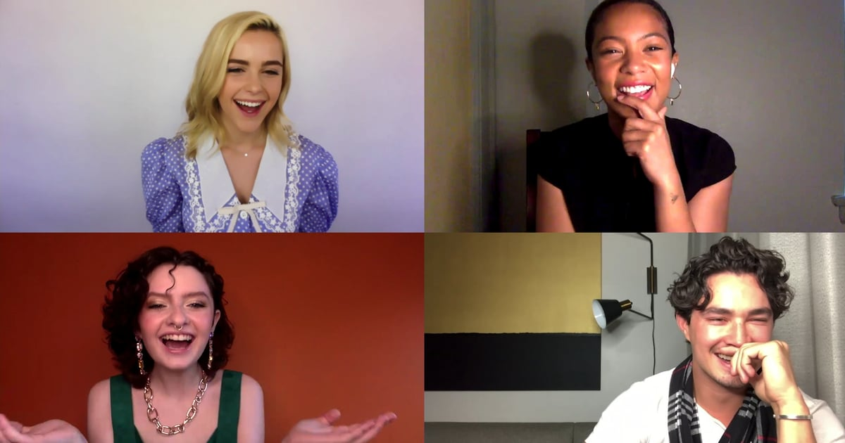 """Watch the Chilling Adventures of Sabrina Cast Play a Hilarious Game of """"Who's Most Likely"""""""