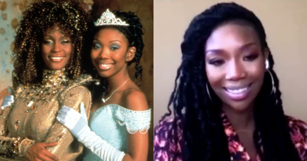 "Brandy Gets Emotional Remembering Whitney Houston's ""Enchanting Light"" on Cinderella Set"