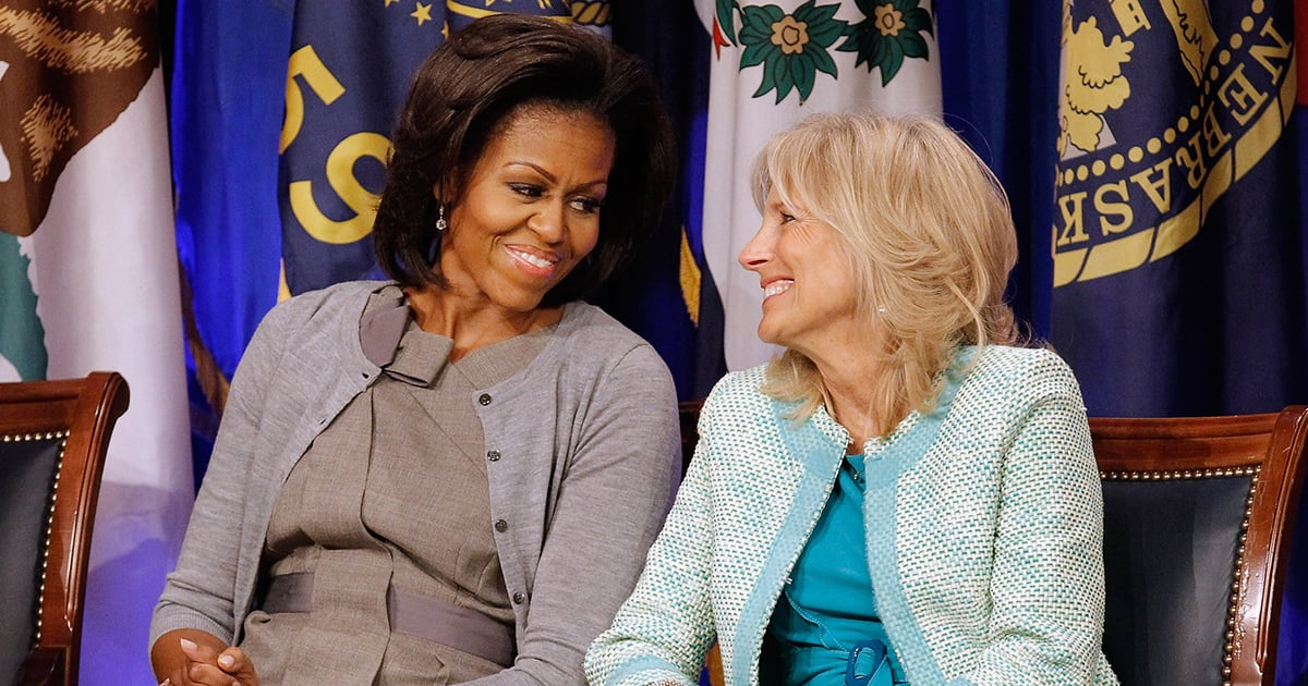 Jill Biden Sent Michelle Obama This Symbolic Gift Straight From the White House
