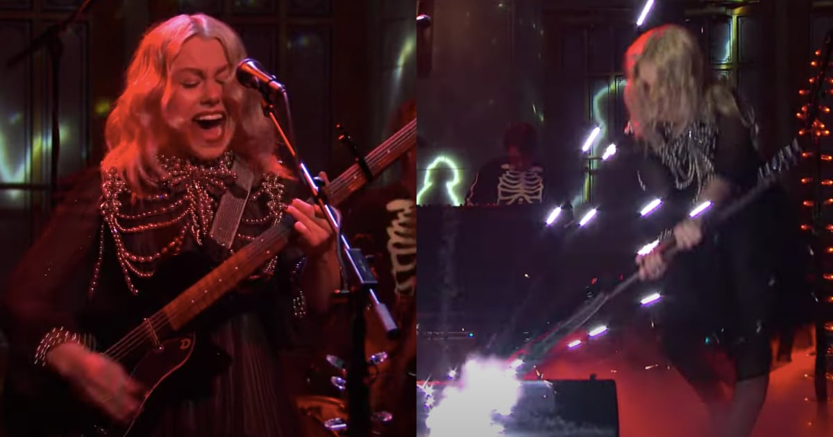 Phoebe Bridgers Sums Up My 2021 Mood With a Screaming, Guitar-Smashing SNL Performance