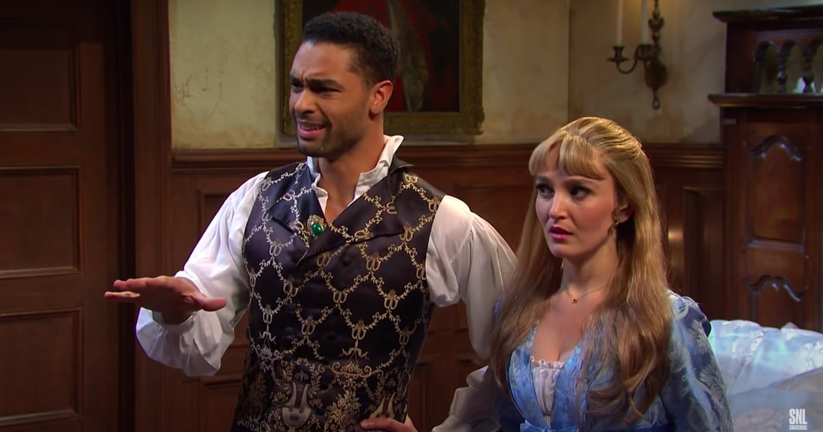 Regé-Jean Page Steps Back Into the Duke of Hastings's Shoes For SNL's Creepy Bridgerton Skit