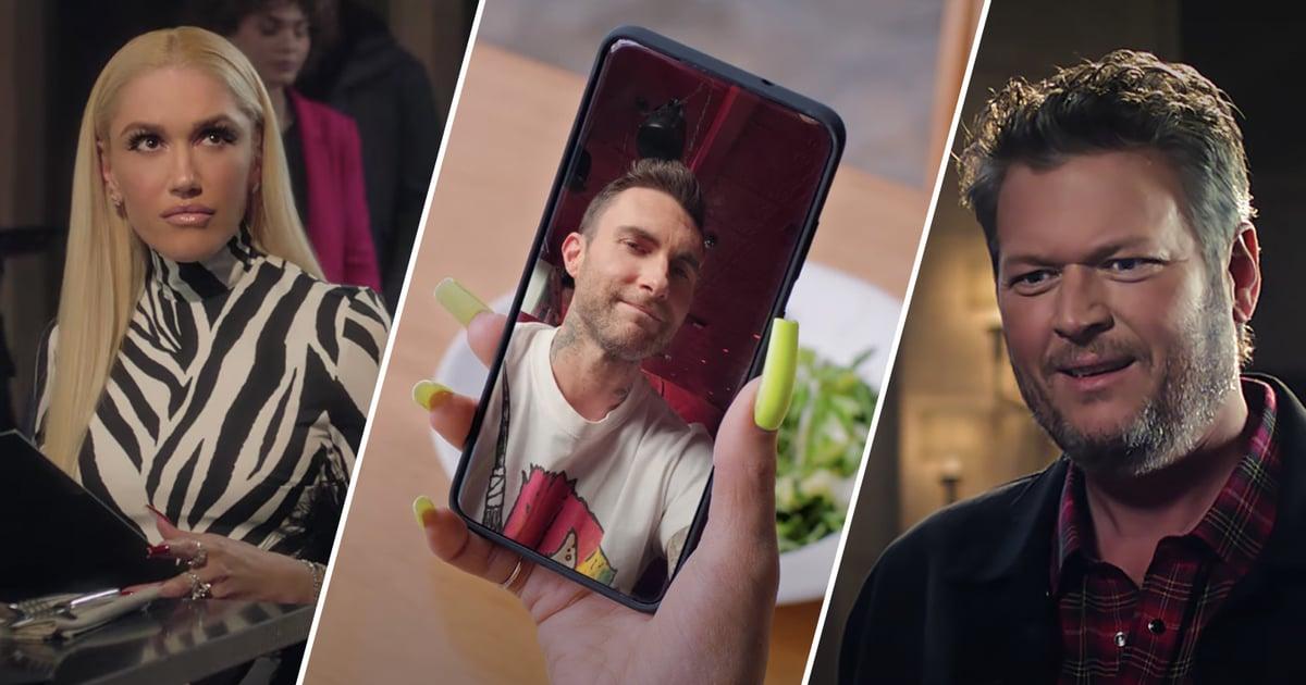 T-Mobile's Super Bowl Ad Reveals How Gwen Stefani and Blake Shelton *Really* Got Together