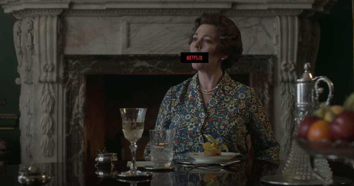 """The Crown Just Got an """"X-Rated"""" Treatment, and We'll Never Look at It the Same Way"""
