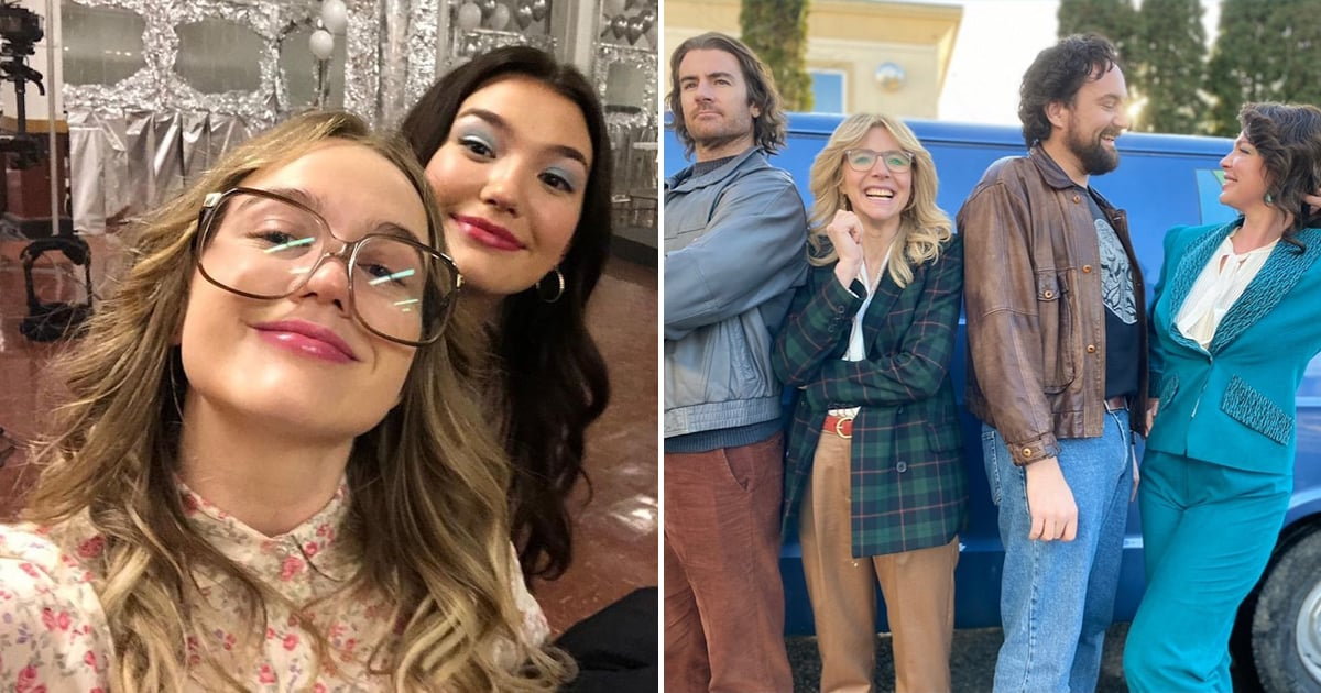 These Behind-the-Scenes Photos of the Firefly Lane Cast Prove They're One Big Happy Family