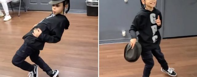 """This 9-Year-Old's Twist on """"Singin' in the Rain"""" Brought a Smile to My Face — That Moonwalk!"""