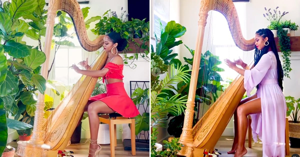 This Harpist's Songs Are So Heavenly, She Was Scouted to Perform at the Grammys