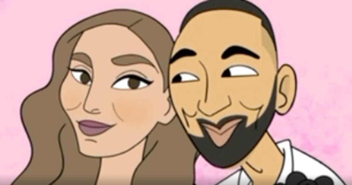 """We Had Chemistry"": See John Legend and Chrissy Teigen's Animated Love Story"