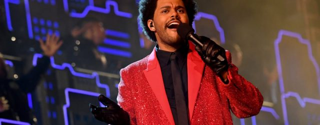 We Want to Plaster These Photos of The Weeknd's Super Bowl Performance on Our Walls