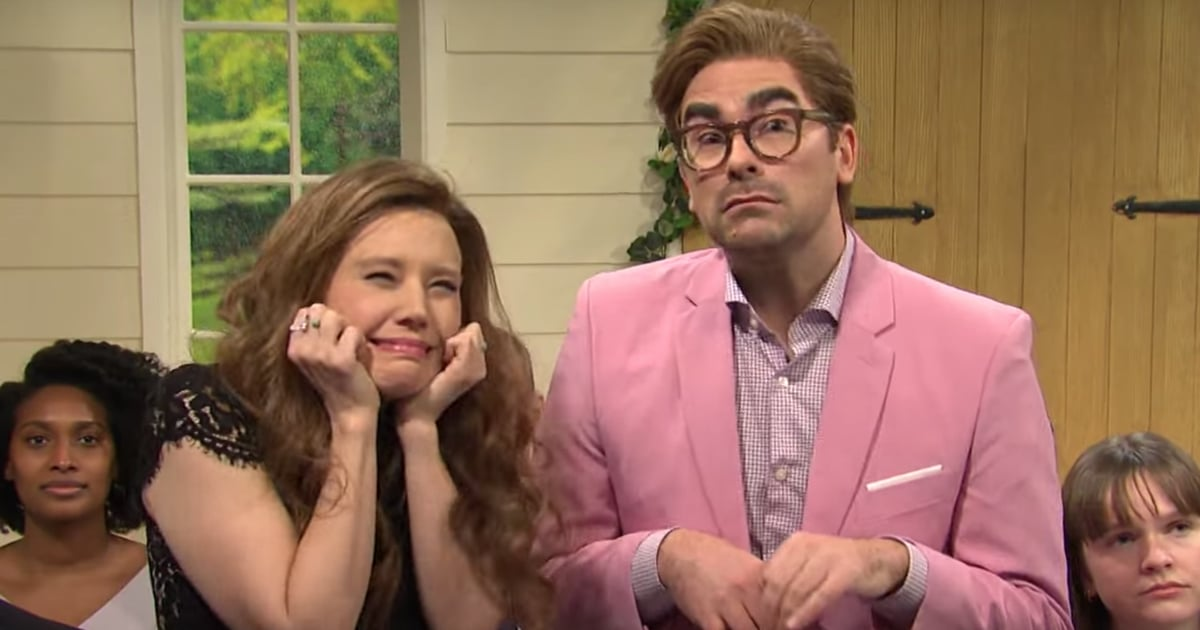 We'll Likely Never Get Over Dan Levy and Kate McKinnon's Hysterical Wedding Skit on SNL