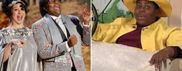 All That Fans, Rise! Kenan Thompson Basically Revived Pierre Escargot at the Golden Globes