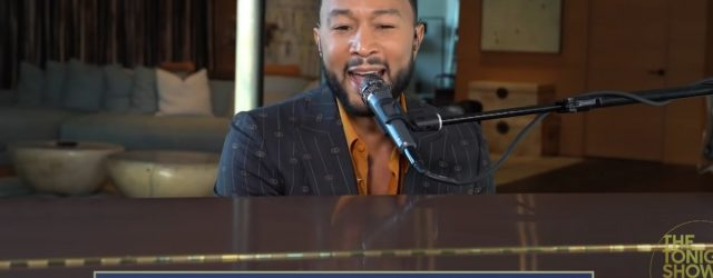 """I'm Playing John Legend's """"Zoom Happy-Hour"""" Song at Every Virtual Work Meeting Now"""