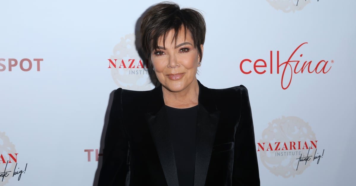 """Kris Jenner on Kim and Kanye's Divorce: """"All I Want Is For Those 2 Kids to Be Happy"""""""