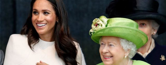 """Meghan Markle's First Time Meeting the Queen Was """"Lovely and Easy,"""" but Also Telling"""