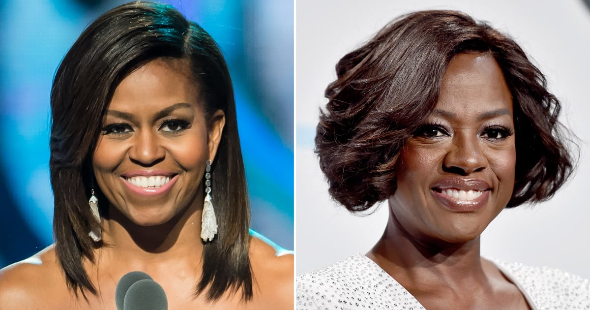 """Michelle Obama Gives Viola Davis Her Seal of Approval to Play Her: """"I'm Not Worthy"""""""