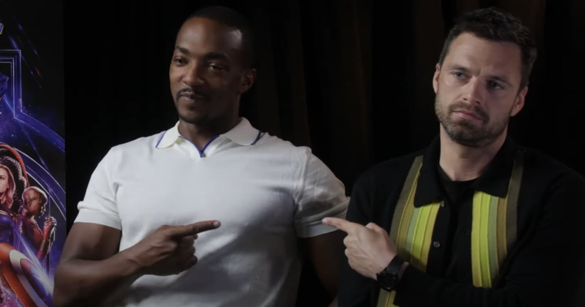 The Only Thing Anthony Mackie and Sebastian Stan Can't Do? Keep Each Other From Laughing