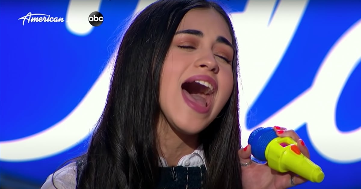 "This American Idol Contestant Belted Demi Lovato's ""Anyone"" Into a Toy Microphone"