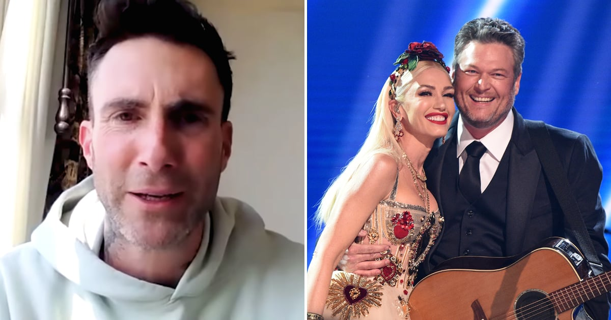 """Will Adam Levine Be Blake Shelton and Gwen Stefani's Wedding Singer? """"They Can't Afford Me"""""""