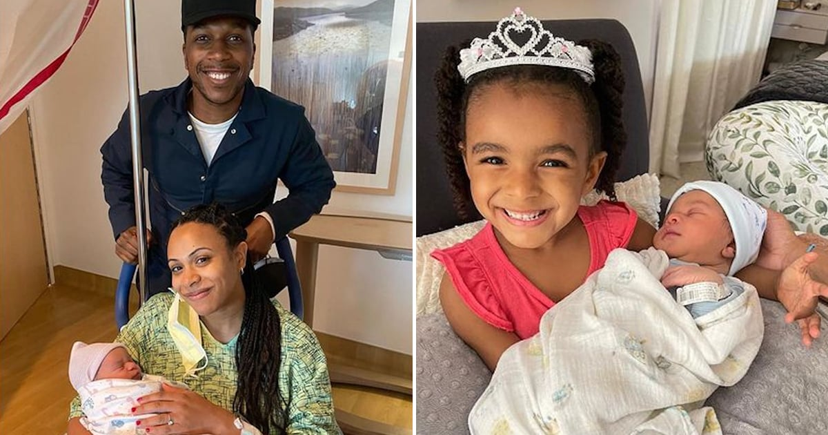 And Baby Makes 4! Leslie Odom Jr. and Nicolette Robinson Welcome Their Second Child