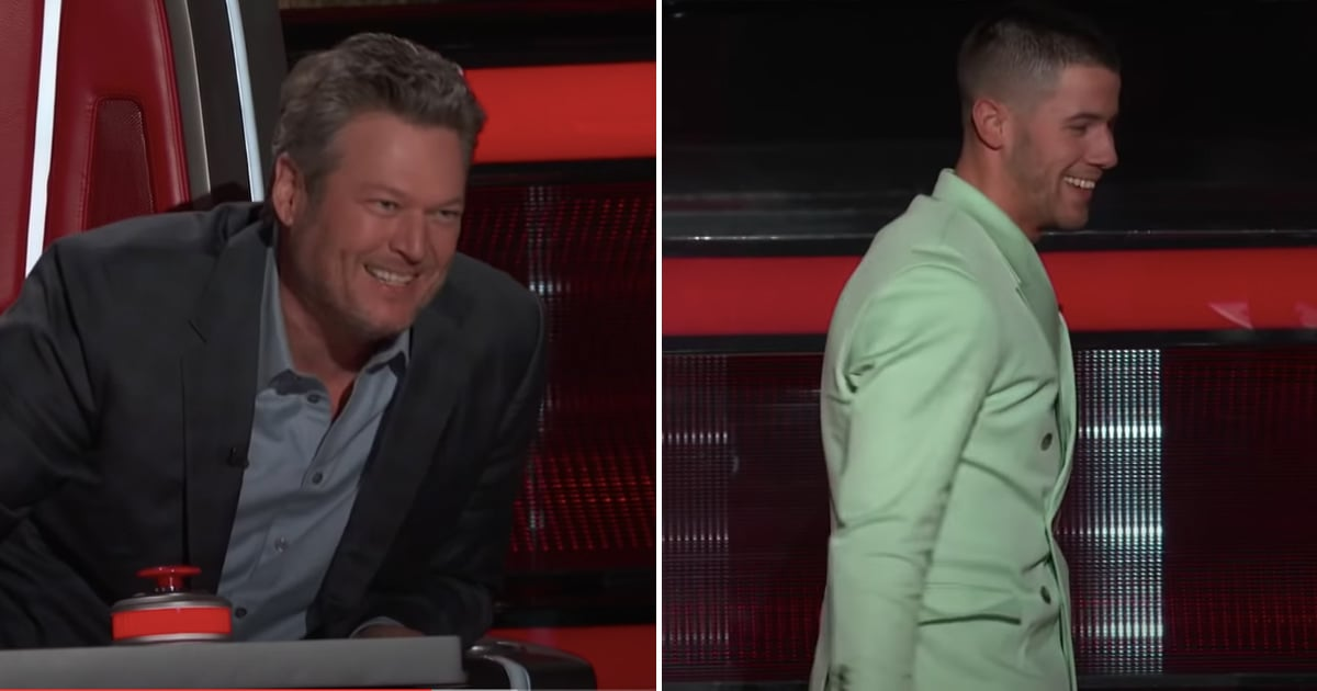 Blake Shelton Used This Voice Performance as a Chance to Completely Roast Nick Jonas