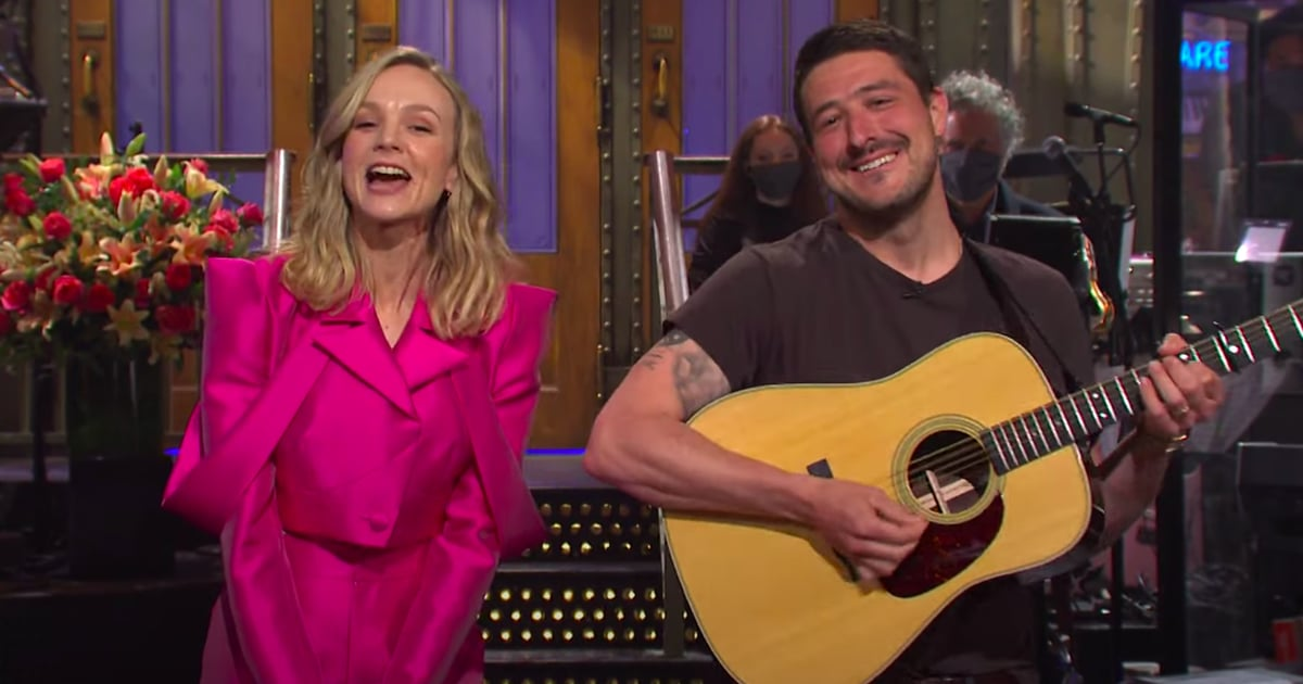 Carey Mulligan's Husband Marcus Mumford Adorably Crashes Her SNL Monologue