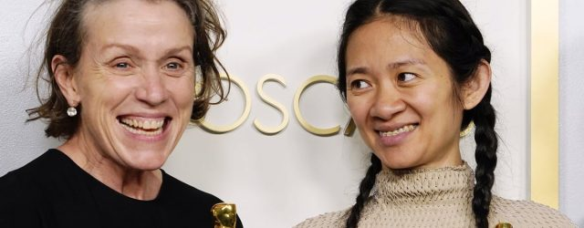 Chloé Zhao Explains Why Frances McDormand Howled After Nomadland's Best Picture Win