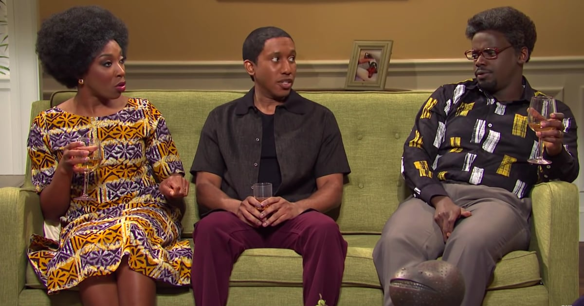 Daniel Kaluuya's Disappointed Dad Face Is Burned Into My Brain After This Funny SNL Skit