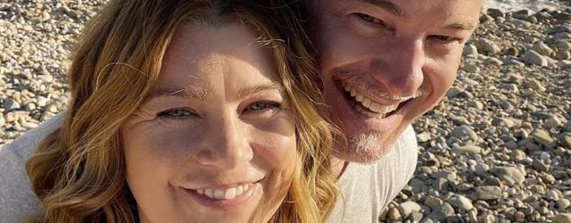 Ellen Pompeo and Eric Dane Share a Sweet Selfie After Mark's Surprise Return to Grey's Anatomy
